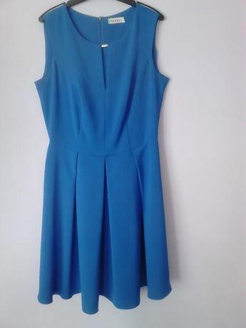 Sukienka Kolor Chabrowy!