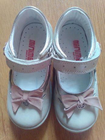 Кожанные туфли Minimen, туфельки для девочки