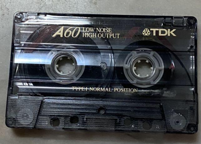 Cassete TDK A60 para colecionadores
