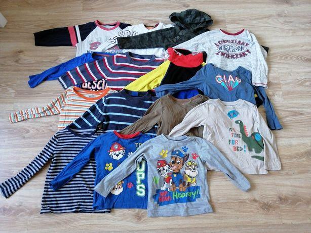 Paka zestaw ubrań w rozmiarze 98