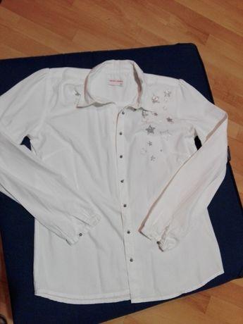 Paka zestaw 4 eleganckie ubrania - bluzki, spódnica - dziewczynka 158
