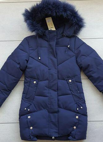 Куртки зимние 128-152 см  5 цветов