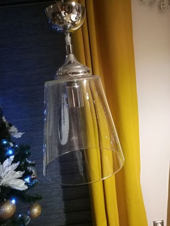 Żyrandol szklany