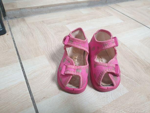 Sandały dziewczęce r.18