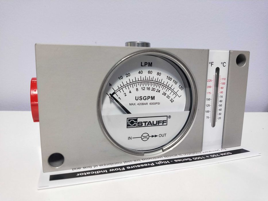 Przepływomierz hydrauliczny SDM-750-A-120-T Żagań - image 1