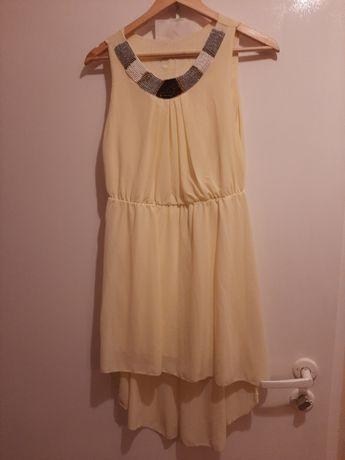 Sukienka żółta  na każdą okazję