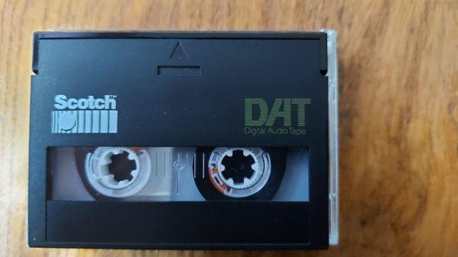 Kaseta Dat marki Scotch DAT 60, używana, stan Idealny