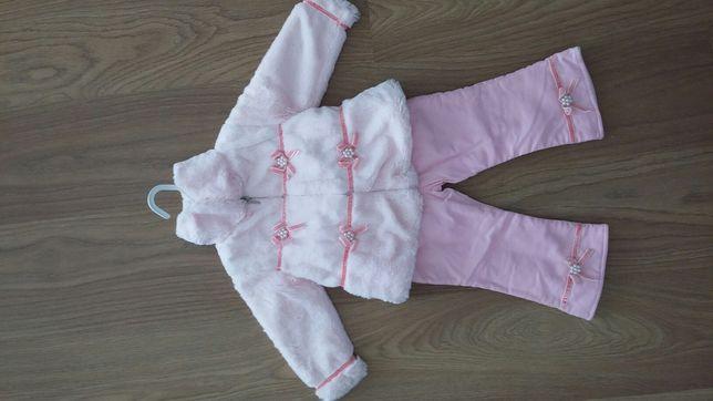 Futerko/kurteczka + spodnie na roczek NOWE - jeszcze niższa cena