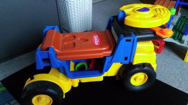 PLAYSKOOL TONKA: jeździk, dźwig, chodzik, pchacz. Super zabawka!