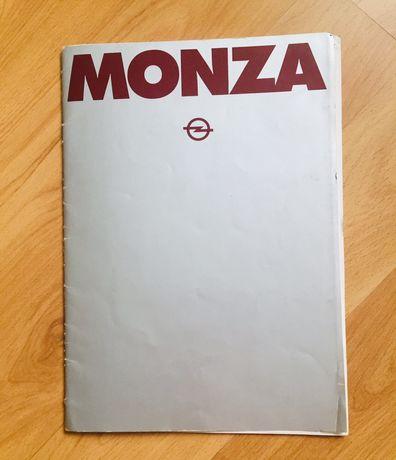 Prospekt Opel Monza