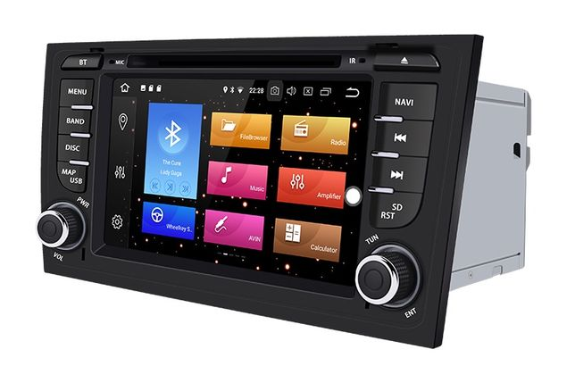 Radio ANDROID 10 / 4GB AUDI A6 C5 DVD S6 RS6 RNS Nawigacja PL 2DIN 24h