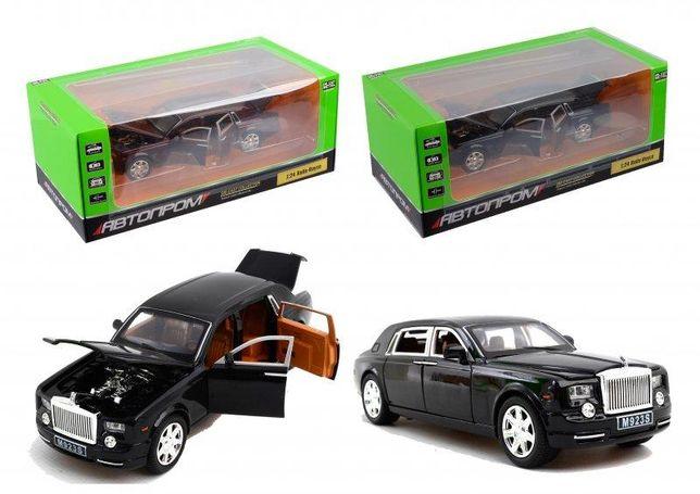 Машина метал 7687 АВТОПРОМ 1:24 Rolls-Royce свет,звук..