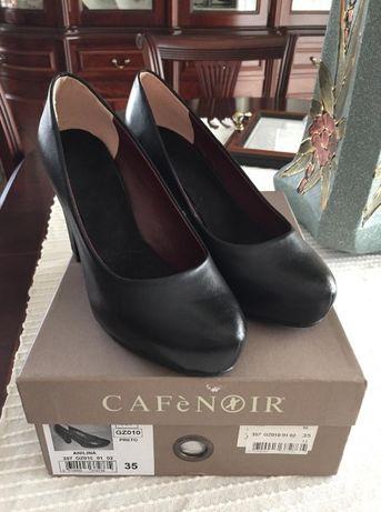 Sapatos em pele [CAFèNOIR]
