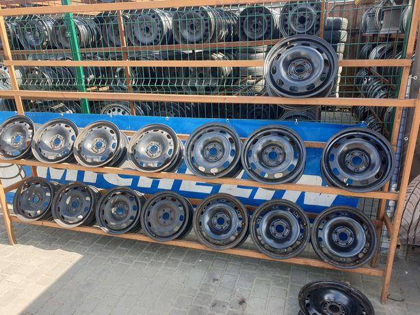 Металеві диски Фольцваген Гольф 4  5/100 R15 6J ET38 5/100 R14 5J ET38