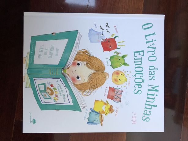 Livro infantil o livro das minhas emoções