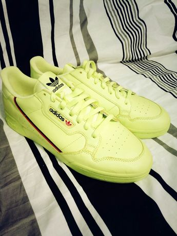 Adidas Continental 80's frozen yellow US12.5