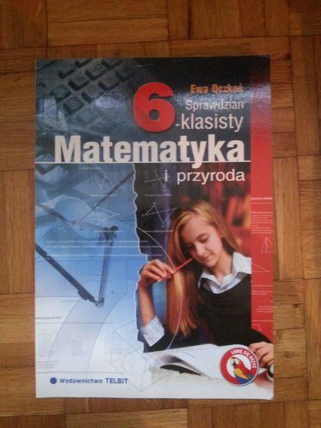 Sprawdzian 6-klasisty Matematyka i przyroda Telbit