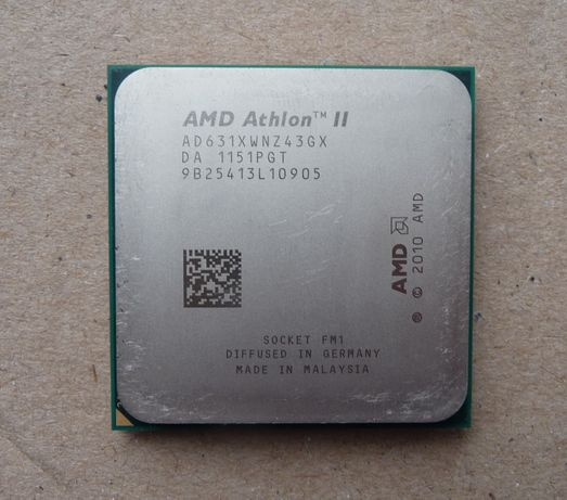 Процессор AMD Athlon II X4 631 2,6ГГц Сокет FM1 4 ядра