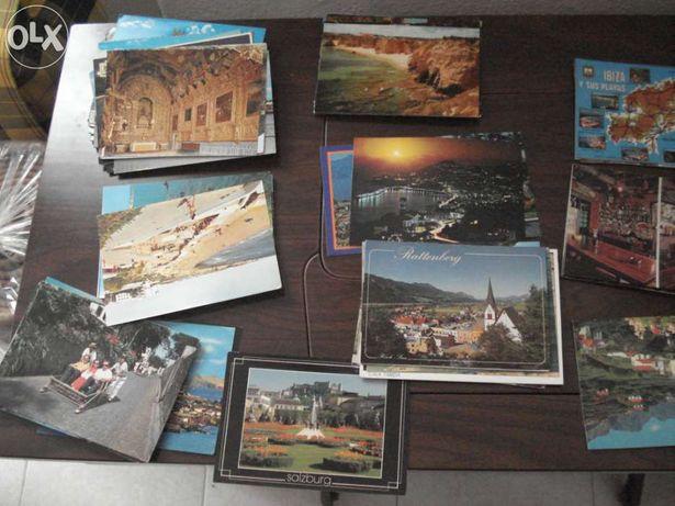 Varios postais antigos