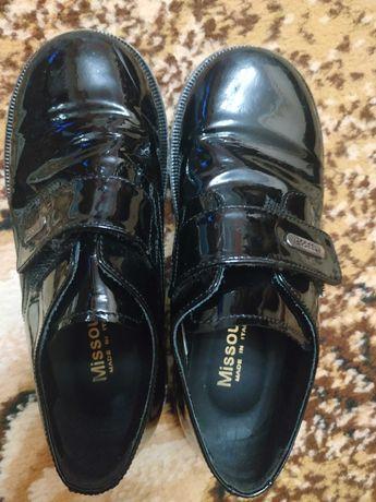 Детские туфли на мальчика 28р
