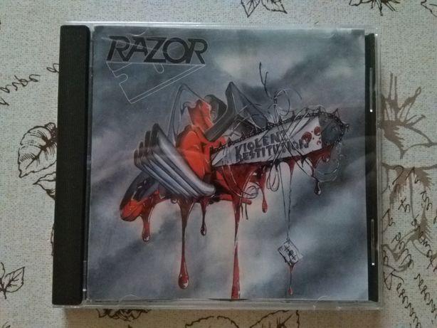 CD Razor - Violent Restitution Thrash Speed Metal Трэш Спид Метал