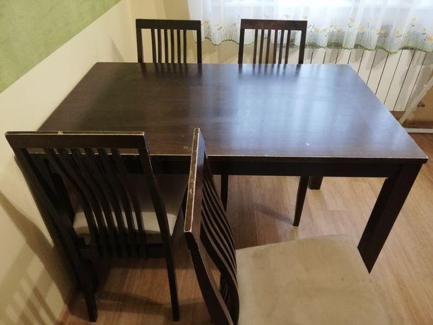 Stół 120/75 drewniany