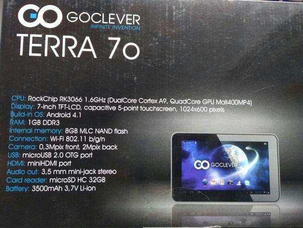 Планшет GoClever Terra 70 TAB R721 1/8Gb Польша ОБМЕН: Nokia 3310/1100