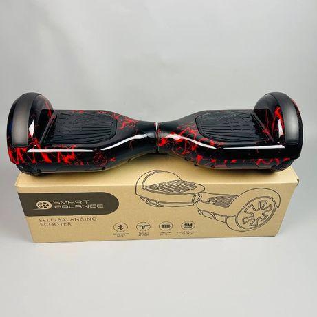 "Гироборд 6,5""гироскутер Smart Balance Смарт баланс, Зеленый граффити"