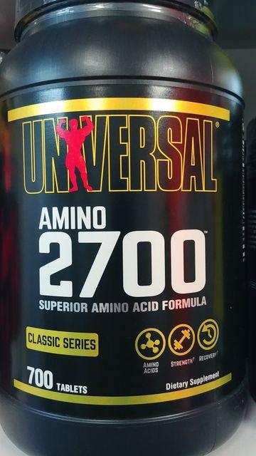 Universal Amino 2700 tab700 super mocne aminokwasy BCAA EAA najtaniej