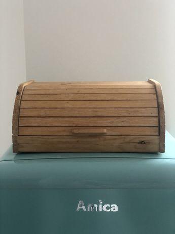 Sprzedam chlebak kuchnia retro drewno ikea