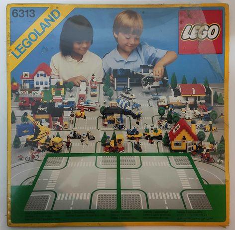 LEGO 6313 placas / bases cruzamentos NOVO de 1986