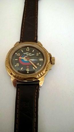Komandirskije męski mechaniczny zegarek z datą