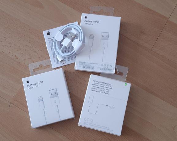 Kabel do iPhone Lightning to USB (1m) NOWY fabrycznie zapakowany