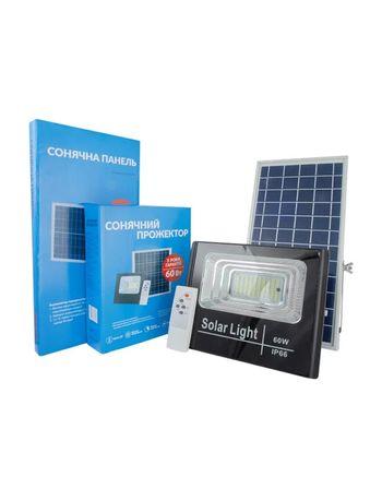 Солнечный светодиодный прожектор 60 Вт (0837A60-01) Alltop