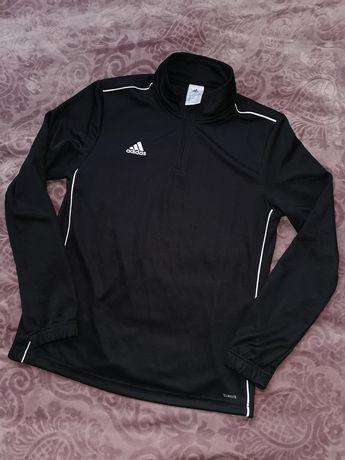 Bluza dresowa Adidas climalite czarna r. M sportowa