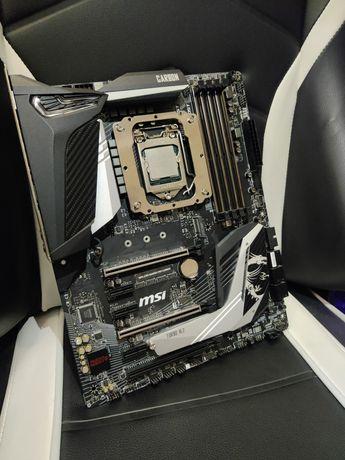 MSI MPG Z390 Gaming Pro Carbon + I7 9700 +RX 580 8G