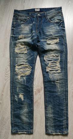 WATER JEANS spodnie jeans męskie M