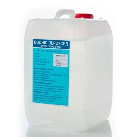 Перекись водорода 35% 10 кг.
