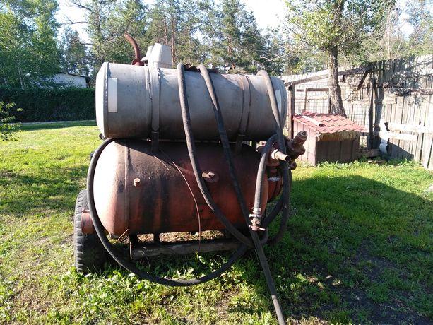 Прицепная компрессорная станция ПР-10/8М2