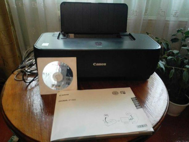 Продам струйный принтер CANON PIXMA iP1900, почти новый