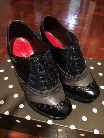 Sapatos salto alto 3cores