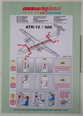 Safety cards - karty bezpieczeństwa | linie lotnicze LOT Wizzair ...