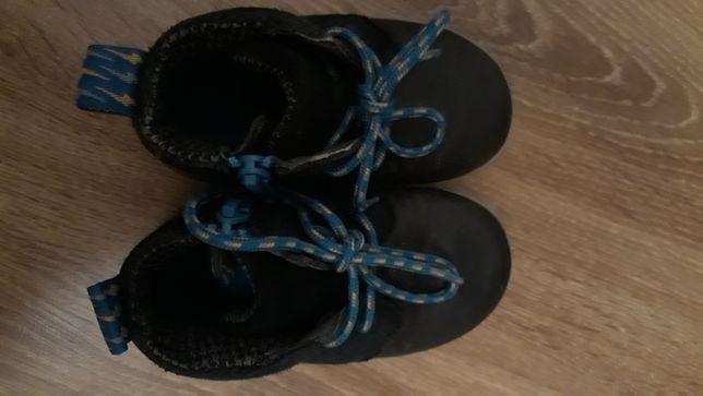 Skórzane buty Clarks r.21