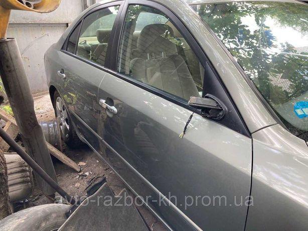 Двери передние, двери задние Hyundai Sonata NF (2008).