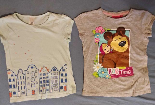 Koszulki bawełna 122-128