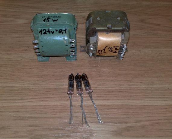 Ламповый фоно корректор для винила, набор, RIAA 6Н16Б 6Н17Б