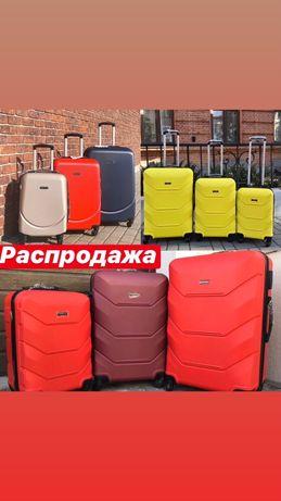 ОГРОМНЫЕ СКИДКИ чемодан валіза сумка на колесах дорожная wings 147