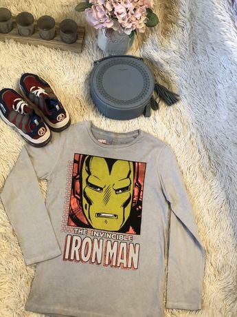 Реглан Zara Marvel Iron man. Новый