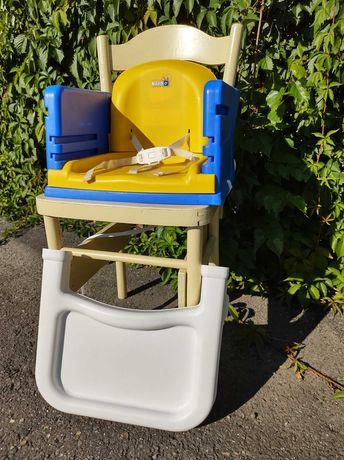Krzesełko do karmienia do małego mieszkania