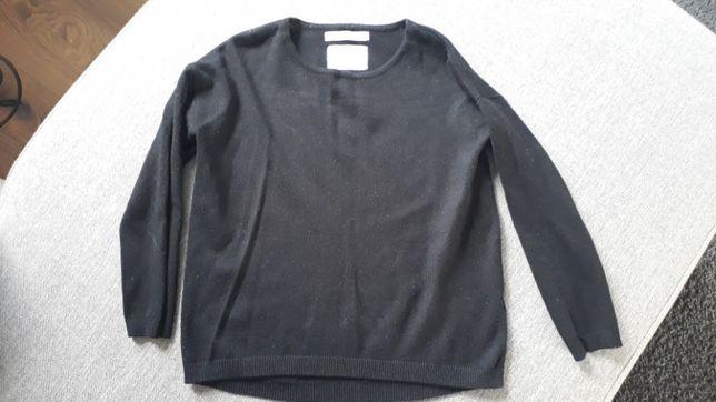 Sweter czarny Zara 5 lat 110 cm